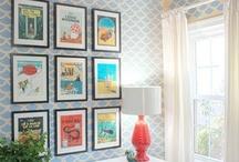 Wall Art Inspiration / Ways to hang and display art
