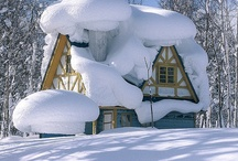 """Snow had Fallen, Snow on Snow.. / """"Snow had fallen snow on snow, snow on snow, in the bleak midwinter, long ago.""""        Welcome, please pin all that you enjoy! / by Julie McCormick"""