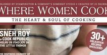 where women COOK / Kitchens. The heart of the home.