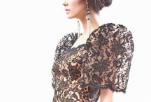 Filipiniana Fashion / a tribute to traditional filipino fashion, accessories and materials / by Mary K