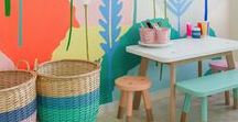 Kid Spaces / Kids spaces: Everything from kids bedroom décor ideas, play rooms, reading nooks and organizing tips.