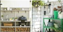 Outdoor DIY / These backyard DIY projects will have you wanting to spend more time outdoors.
