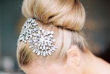 head shot / hair make-up jewelry / by Erin Winsett