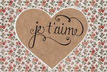 love and romance / by Moriah Humphrey
