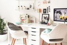 Workspaces / Home offices and craft spaces that inspire me