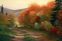 """""""Crunchy, Crinkly Autumn Leaves"""" / by Polly DeSpain"""
