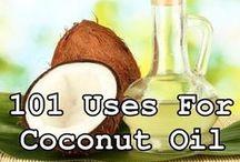 Coconut oil / by Melissa Johnk