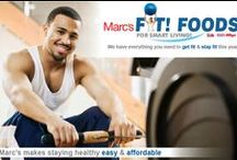 Fit! Foods for Smart Living! / Marc's makes staying healthy easy & affordable.  We have everything you need to get fit & stay fit this year & it won't cost you a lot!