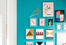 Framed / Interesting frames + wall composition