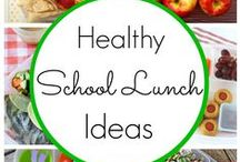 Family Cooking / No more boring school lunches! Use these healthy fun ideas to encourage kids to eat better!