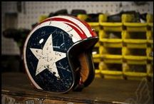 Motorcycle accessories / Motorcycle clothes, helmets and other accessories
