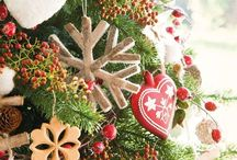 Creating Christmas / Decorative and Craft ideas and inspiration for kids, home schooling, creating at home, nature tables... To celebrate winter/ Yule, Christmas/ holidays.