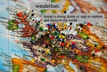 """Wanderlust / """"Not all those who wander are lost"""" ~J R R Tolkien"""