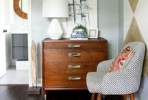 Home Sweet Home / decorating a home on a budget, inspiration, home decor, farm house, pops of color