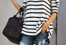 My Style / fashion, love for stripes and leopard print, fashion inspiration