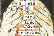 Dreaming Aloud / Visit my blog http://dreamingaloud.net/ for your daily dose of inspiration and musings on mothering, mindfulness and creativity / by Lucy Pearce