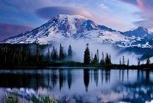 The Majesty of Nature / Celebrating the grandeur of landscapes.