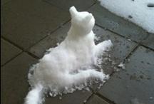 SnowLady~!~Snowman~~SnowPerson!! / Love Snowmen/lady/kids/What Ever~If it Resembles a Snowman Then~I Love it!!! / by Helen Cornett