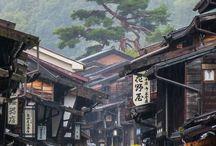 Japanese Dreams / Memories of our travels in Kyoto, Tokyo, Hiroshima, Japan. Geisha, temples, zen gardens, Sakura...