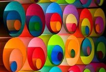 Colour Lover / Vibrant rainbow hues, colour to uplift the soul / by Lucy Pearce