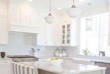 Kitchen Remodel / dream kitchen, ideas, inspiration, kitchens, white kitchen, clean and simple design