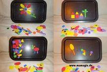 DIY for Kids / Einfache, aber wirkungsvolle Bastelideen für und mit Kindern - viele davon aus Recyclingmaterial.