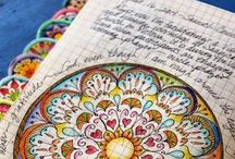 Art journaling / Vibrant art journals, visual diaries and mixed media to inspire and uplift.