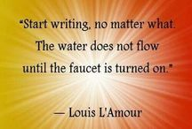 The Art of Writing / Philosophical musings and inspiration on the art of writing.