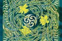 Celtic Dreams / Celtic art and design contemporary and traditional.