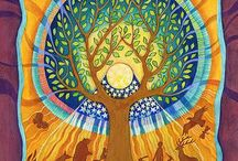 Tree of Life / Cutting across sacred and artistic traditions, the tree of life, a powerful symbol.