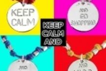 Keep Calm Collection / Collane e bracciali in argento