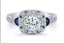 Saturn Jewels Diamond Engagement Rings / by Genesis Diamonds