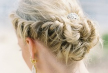Wedding Hair / Hairstyle inspiration for the bride, bridesmaids, groom and best men--tons of ideas!