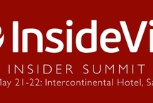 Insider Summit 2013 / The premier summit for sales, marketing, and account management thought leaders to discover upcoming trends, social CRM secrets and more!  May 21-22: Intercontinental Hotel, San Francisco.  / by InsideView Inc.