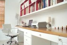 Study / ideas for our study layout / by Samantha Seddon