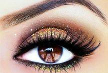 Makeup / makeup looks, smoky eye, makeup inspiration