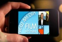 Short Videos and Interviews / Videos from New Media Film Festival Channel. 6 min long max.