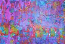 Art of Soul: Abstract / Vibrant colour ... In abstract