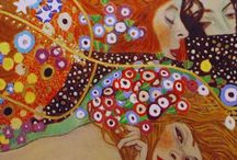 Art: Gustav Klimt / by Lucy Pearce