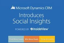Microsoft Dynamics CRM / InsideView partners with Microsoft Dynamics #CRM / by InsideView Inc.