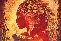 Burning Woman / A book by Lucy H Pearce for women who burn with passion, have been burned with shame, and in another time and place would have burned at the stake.