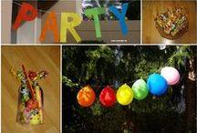 Kids Party Ideas / Ideen für Snacks, Basteleien und Deko rund um den Kindergeburtstag, darunter auch viele Mottopartys.