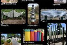 Canto musical - outdoor music ideas