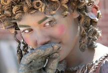 Lia fotografie: Living statues