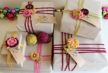 Creative Packaging Ideas / Cute craft ideas for packaging, pretty packages, gift wrapping inspiration, DIY gift wrap, DIY gift tags, gift wrap tutorial, gift tag tutorial, price tag tutorial and more.