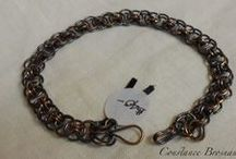 Chain Maille work that I have made / Adornments, jewelry, armor...... / by Constance Brosnan