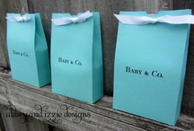 Breakfast at Tiffany's Baby Shower / Inspiration for a classy shower. Colors: Ivory pearl, tiffany blue, noir / by Stephanie Poli