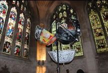 2014 Cathedral Art Exhibition / Some of the work art & design students produced which was on display at Peterborough Cathedral.