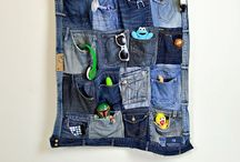 Denim / upcyled denim jeans remodled / by Claire Armstrong