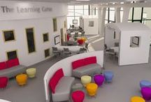 Contemporary Learning Spaces / Collaborative, flexible classrooms and learning spaces
